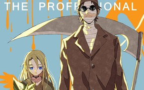 Картинка девушка, парень, Ангел кровопролития, Satsuriku no Tenshi