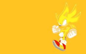 Картинка ботинки, силуэт, перчатки, золотой, Supersonic, Суперсоник