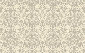 Обои фон, узор, Flower, Design, винтаж, бежевый, Vintage, Background, Pattern, Floral