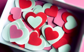 Картинка любовь, фон, сердечки, love, heart, background