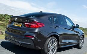 Картинка дорога, скорость, BMW x4