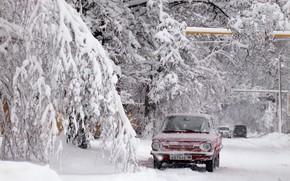 Картинка car, relax, winter, snow, Donetsk, zaz968