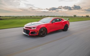 Картинка скорость, Chevrolet, Camaro, Hennessey, ZL1, 2017, HPE850
