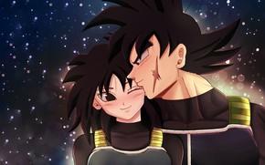 Картинка девушка, пара, парень, Dragon Ball