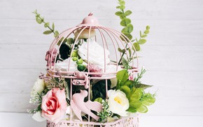 Картинка цветы, декор, композиция