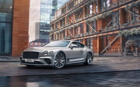 Картинка город, скорость, Bentley, Continental, Bentley Continental GT, GT Speed, 2022