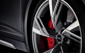Картинка Audi, колесо, универсал, RS 6, 2020, 2019, V8 Twin-Turbo, RS6 Avant