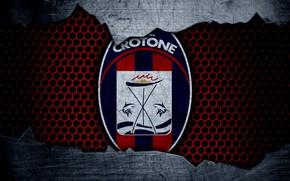 Картинка wallpaper, sport, logo, football, Crotone