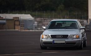 Картинка Audi, Classic, Silver, URS6, Oldschool