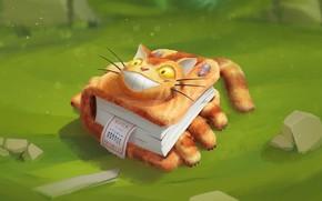 Картинка кот, мышка, арт, книга, детская, фЭнтези, Виталий Латыпов