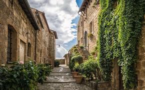 Картинка город, дома, Италия, улочка, I Borghi più Belli d'Italia