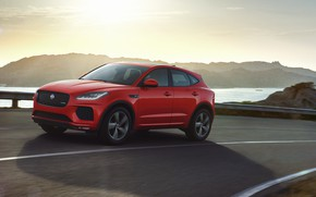 Картинка Jaguar, кроссовер, AWD, P250, 2019, E-Pace, Chequered Flag
