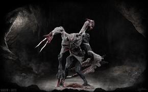 Картинка лезвия, существо, когти, Keos Masons, Sinner + Envy