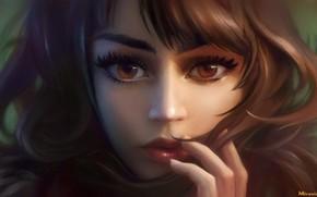 Картинка глаза, девушка, лицо