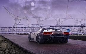 Картинка Roadster, HDR, Lamborghini, родстер, V12, 2020, SC20