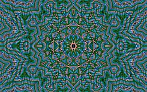 Картинка узор, цвет, калейдоскоп