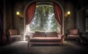 Картинка дом, диван, кресло