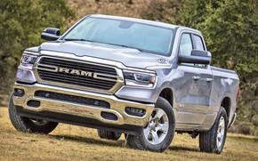 Картинка 2018, 1500, Dodge Ram, Big Horn, Ram 1500 Big Horn Quad Cab, Quad Cab