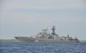 Картинка корабль, большой, противолодочный, Вице Адмирал Кулаков, проект1155