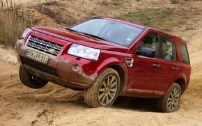 Картинка 2008, Land Rover, кроссовер, Freelander, SUV, Freelander 2, LR2