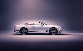 Картинка Bentley, Continental GT, вид сбоку, Convertible, 2019
