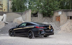 Картинка BMW, вид сзади, Manhart, 8-Series, 2019, G15, M850i, XDrive, MH8 600
