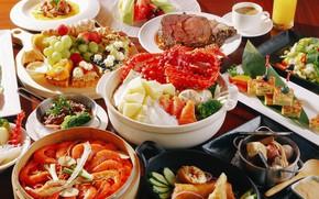 Картинка разное, японская еда, ассорти
