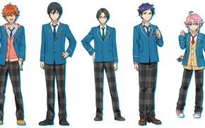Картинка парни, школьная форма, персонажи, Ensemble Stars, Ансамбль звёзд