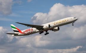 Картинка Emirates, Boing, 777-300 ER