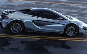 Картинка McLaren, Машина, Car, Auto, Render, Рендеринг, Supercar, Спорткар, Sportcar, Transport & Vehicles, McLaren 600LT, by …