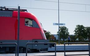 Картинка Локомотив, Поезд, Тепловоз, Электровоз, Locomotives, Train Sim World 2020