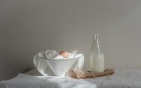 Картинка еда, молоко, яица