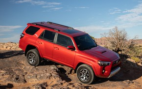 Картинка Toyota, SUV, TRD, Off-Road, 2020, 4Runner