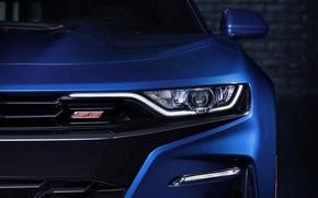 Картинка Chevrolet, Camaro, Car, Blue