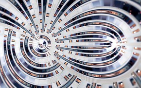 Картинка узор, фрактал, петли, by fractaldesire