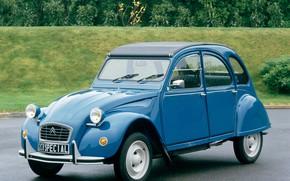 Картинка синий, Citroën, Special, 2CV6, 1975–90