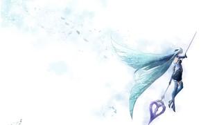 Картинка девушка, фон, лансер, Fate / Grand Order, Судьба великая кампания