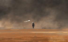 Картинка Рисунок, Пустыня, Флаг, Арт, Рыцарь, Concept Art, Crusade, Знамя, Крестовый поход, Sjoerd Bijkerk, by Sjoerd …