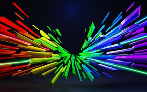 Картинка линии, фон, обои, узор, краски