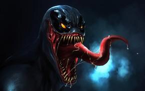 Картинка монстр, Веном, Venom, симбиот
