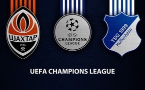 Картинка wallpaper, sport, logo, football, UEFA Champions League, TSG 1899 Hoffenheim, Shakhtar Donetsk, Shakhtar Donetsk vs …