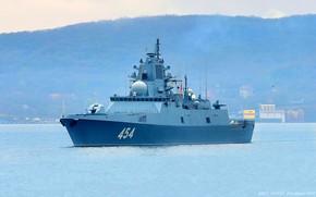 Картинка фрегат, Владивосток, Адмирал Горшков