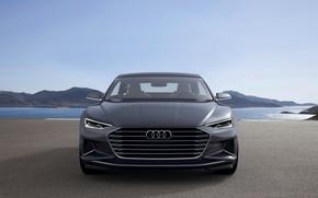 Картинка Concept, Audi, купе, перед, Coupe, 2014, Prologue
