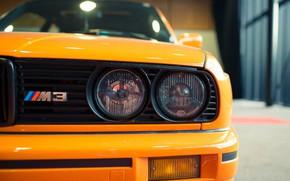 Картинка Orange, Bmw, E30