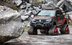 Картинка Mitsubishi, 2018, L200, Triton Survivor, Mitsubishi L200 Triton Survivor 2018