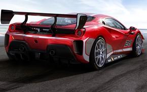 Картинка Ferrari, спорткар, 488, Ferrari 488, Challenge Evo
