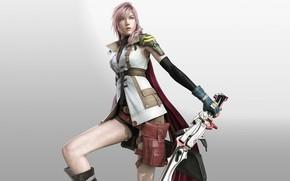 Картинка девушка, Final Fantasy XIII, Lightning