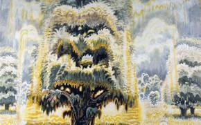 Картинка Charles Ephraim Burchfield, In Memory of the American Chestnu, Summer Solstice, 1961-66