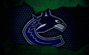 Картинка wallpaper, sport, logo, NHL, hockey, Vancouver Canucks