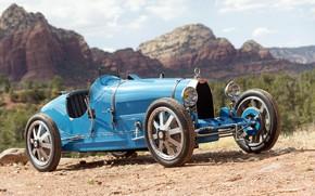 Картинка Bugatti, Фары, Classic, Хром, Classic car, 1924, Радиаторная Решетка, Type 35, Bugatti Type 35 Prototype